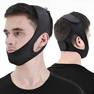 Anti Snore Chin Strap, Stop Snoring Device, Newest Chin Strap for Men Women, Adjustable and Breathable Anti Snoring Soluti...
