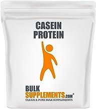 Bulksupplements Casein Protein Powder (1 Kilogram)