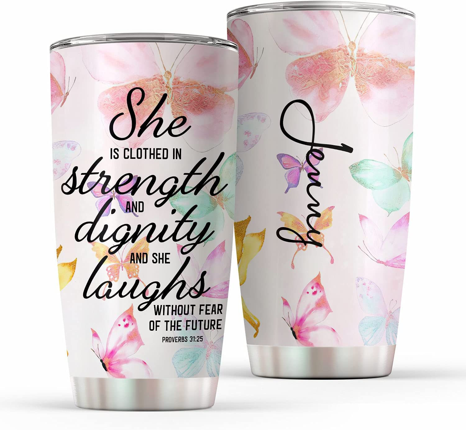 Cheap bargain Excelliti She Is Clothed Courier shipping free shipping in With Laughs Strength Dignity and