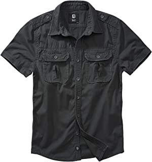 Brandit Vintage Longsleeve Shirt and Short-Sleeved, Sizes S to 7XL