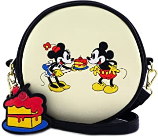 x Disney Mickey and Minnie Mouse Cake Crossbody Bag