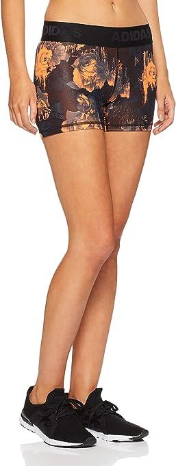 Adidas Women's Alphaskin Sport 3 Stripes Shorts