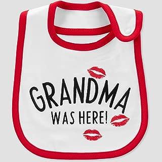 grandma was here bib