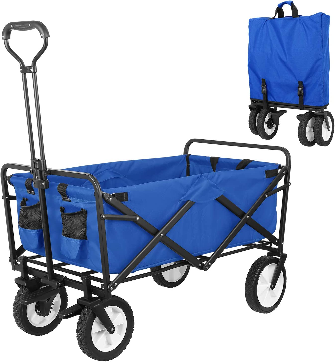 HEMBOR Popularity Collapsible Outdoor Utility Wagon Heavy Folding Max 66% OFF Gar Duty