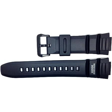 Casio Correa de Reloj Resin Band negro AE-2000W WV-200