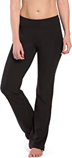 Women's Ecofabric Classic Bootleg Yoga Pant; Back Pockets