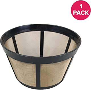 Think Crucial Replacement Coffee Filter - Compatible with Bunn Coffee Makers (18 Ounces) Part # C60666 Permanent Coffee Filters – Fits Most Bunn BX, BTX, GRX, NHB, NHS, ST, HG & H Models – (1 Pack)