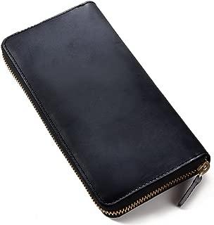 [ラファエロ] Raffaello 一流の革職人が作る 英国王室が愛する ブライドルレザー メンズラウンドファスナー長財布