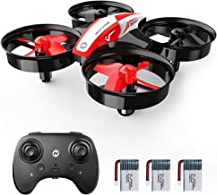 Holy Stone HS210 Mini Drone, 3 Batteries Included, 20-minute Maximum Flight Time, Super Stable, Super Durable, Height-maintenance, Includes Headless & Flip Modes, 2 Freely-switchable Modes, Domestic Japanese Certification Acquired