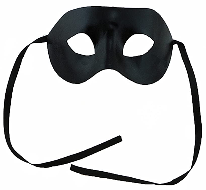 MaskIt Fabric Mask with Ribbon Ties, Black