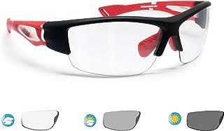 BERTONI Gafas de Sol Deportivas Fotocromaticas para Hombre Mujer Deporte Ciclismo Running Esqui MTB – Mod. 1001