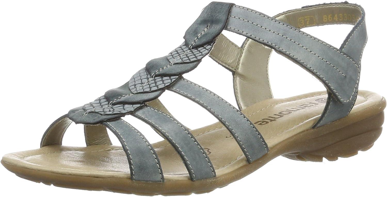 Remonte Women Sandals bluee, (royal royal denim) R3658-14