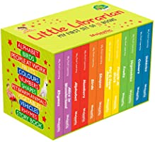 My First Little Librarian: Boxset of 12 Best Board Books for Kids