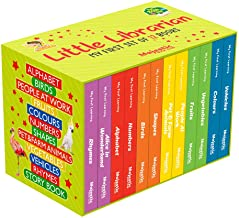 My First Little Librarian Boxset of 12 Best Board Books for Kids