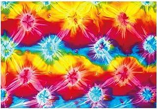 「サラッとドライ ハワイアンバスタオル」 タイダイ 光触媒マイクロファイバー 90㎝×130㎝ アスカタオル 抗菌・消臭タオル 1SP-TDY