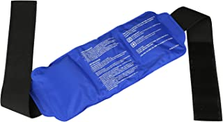 LEADSTAR Gel Ice Pack Reusable Hot and Cold Pack with Adjustable Strap for Pain Relief and Sports Injury