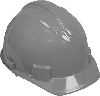 Jackson Safety Charger Hard Hat (20434), Meets ANSI Z89.1 - 2009, Pinlock Suspension, Gray, 12 / Case