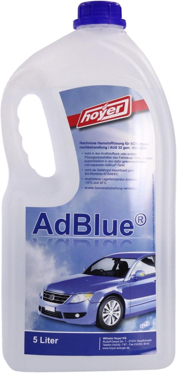 Hoyer Adblue Hochreine Scr Harnstofflösung Iso 22241 5 Liter Auto