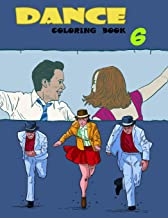 Dance Coloring Book (Volume 6)