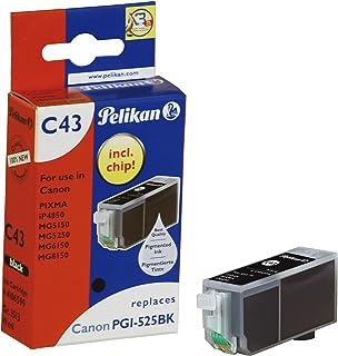 Pelikan C43 Druckerpatrone (ersetzt Canon PGI 525PGBK) schwarz