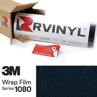 3M 1080 GP272 Gloss Midnight Blue 4in x 6in (Sample Size) Vinyl Vehicle Car Wrap Film Sheet Roll