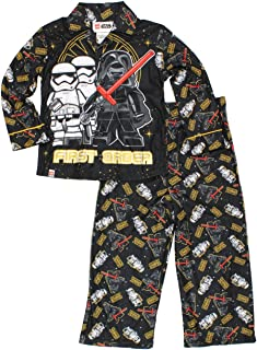 Lego Boys Flannel Coat Style Pajamas (Little Kid/Big Kid)