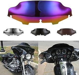 RONSHIN Deflector de Viento Universal Ajustable del Parabrisas de la Motocicleta para Honda Suzuki Kawasaki Yamaha Ducati BMW KTM Repuesto de Auto motocilceta