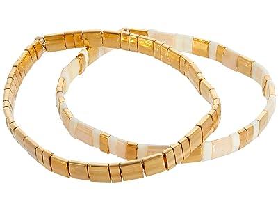SHASHI Tilu Set of 2 (Vanilla) Bracelet