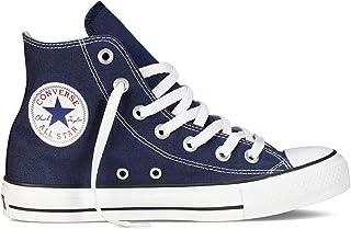 Chuck Taylor All Star High Classic CTAS Hi - Zapatillas altas de lona, unisex, con pegatina de 7 km/h