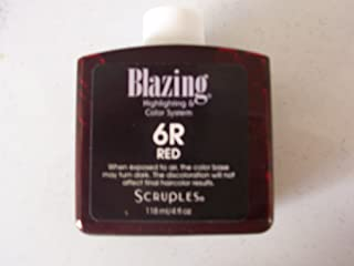 SCRUPLES BLAZING HIGHLIGHTS HAIR COLOR - 6R - RED
