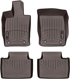 WeatherTech Passgenaue Fußmatten gummimatten passend für: Porsche Panamera 971 kurz Radstand 2017 19 Kakao 1. und 2. Reihe FloorLiner