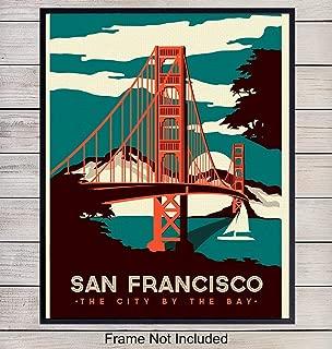 Best poster san francisco golden gate bridge Reviews