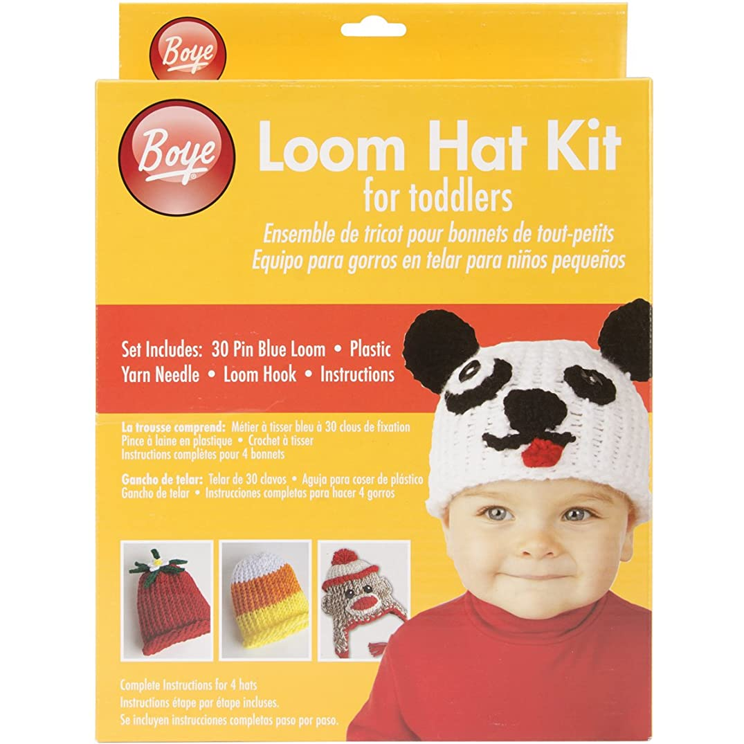 Simplicity Knit Baby Hat Loom Knitting Kit, 4pc