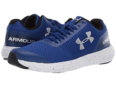 Under Armour Kids UA BGS Surge Running (Big Kid) (Royal/White/Metallic Silver) Boys Shoes