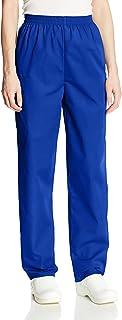 CHEROKEE Women's Workwear Elastic Waist Cargo Scrubs Pant