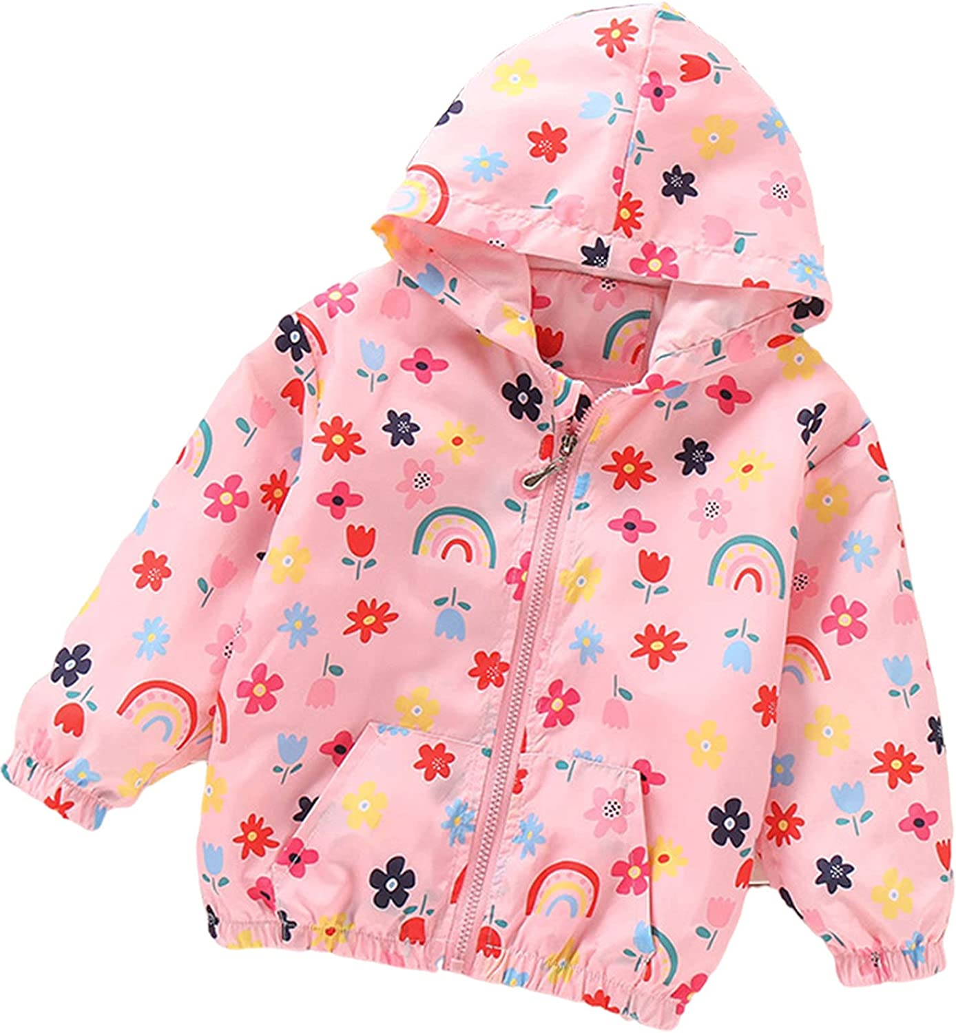 Toddler Fall Jackets Girls 5 popular Spring new work one after another Spring Outerwear Windbreaker Unicorn