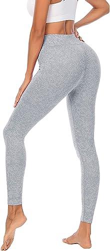 high quality RIOJOY Women Running Leggings Butt Lifting Scrunch popular Workout Compression High Waist wholesale Yoga Pants outlet sale