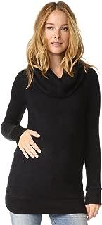 Ingrid & Isabel Women's Maternity Cowl Neck Sweater Tunic