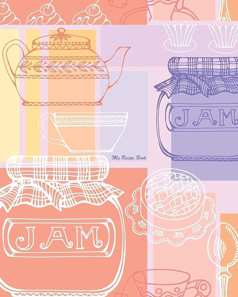 分離大型トラック専制My Recipe Book: 100 Recipe Pages, Conversion Tables, Quotes and More!!! Make Your Own Cookbook Using this Blank Recipe Book [8 x 10 Inches / Pink, Purple and Orange]