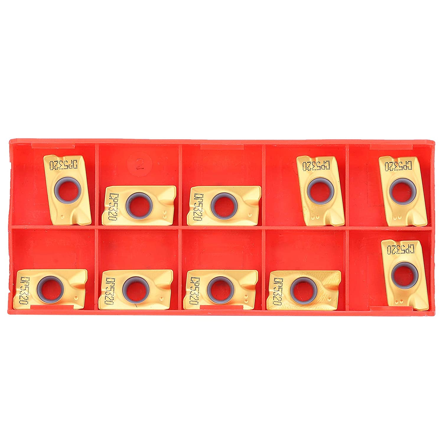 10Pcs Cemented Al sold out. Carbide Limited price Milling PVD Coating Insert Cutter