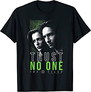 The X-Files Mulder & Scully Trust No One T-Shirt