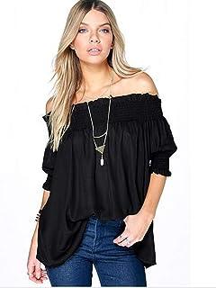 Black Off Shoulder Blouse For Women
