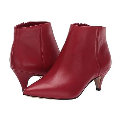 Sam Edelman Kinzey (Deep Red Leather) Women