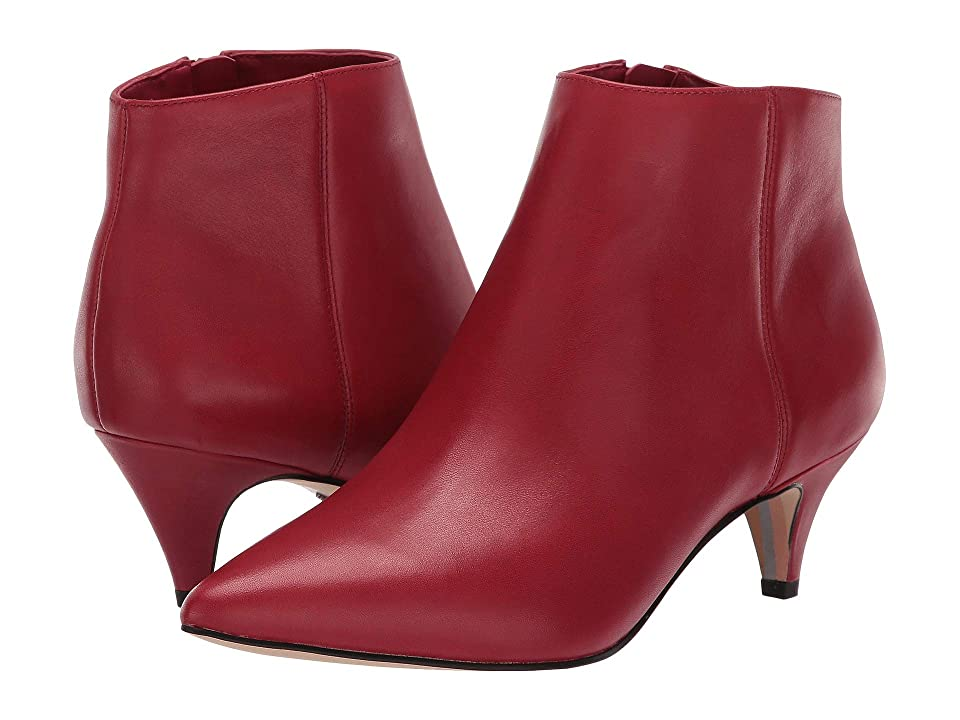Sam Edelman Kinzey (Deep Red Leather) Women