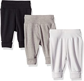 Ultimate Baby Flexy 3 Pack Adjustable Fit Knit Jogger Pants