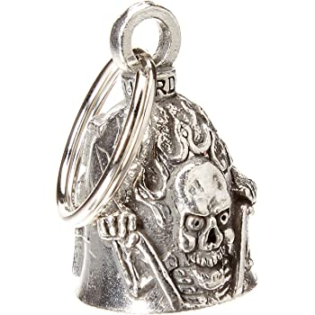 Hot Leathers BEA1085 Silver St Christopher Guardian Bell