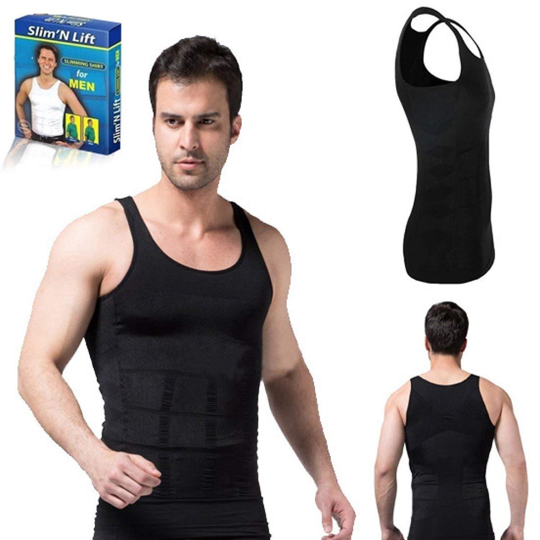 Basic Deal Tummy Tucker Vest for Men, Colour  Amazon.in Clothing ...