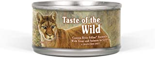 Taste of The Wild Grain Free Real Meat Recipe Premium Wet Canned Stew Cat Food Canyon River with Trout & Smoked Salmon 85grm
