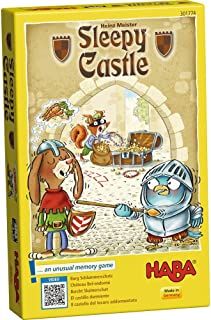HABA Sleepy Castle - an Unusual Memory Game for Ages 4 and Up (Made in Germany)