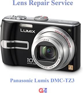 Panasonic Lumix DMC-TZ3 Lens Repair Service - Using Genuine Panasonic Parts